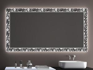 Badspiegel LD402 mit LED Beleuchtung Badezimmerspiegel Spiegel Wandspiegel Maß