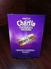 Charlie and the Chocolate Factory(Dvd)Warner Iconic Moments Collector Cover-New~
