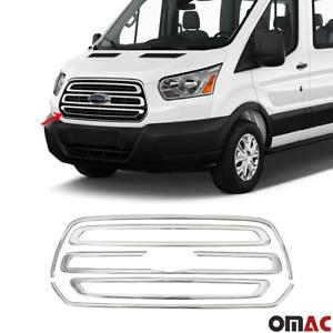 For Ford Transit 150 2015-2021 Chrome Front Grill Outer Frame Trim Kit 5 Pcs