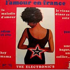THE ELECTRONIC'S hot succès LP RJ maladie d'amour/l'amour en france/manhattan++