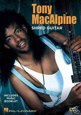 Tony Macalpine Shred Metal Guitar New Dvd