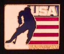 Ice Hockey Pin Badge ~ USA Hockey Team ~ non-Olympic