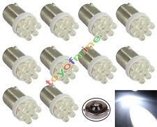 10X BA9 BA9S T4W 233 1895 H6W White Car Auto 7 LED Side ampoule de la lampe