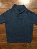 Banana Republic Blue Shawl Pullover Sweater Size Large
