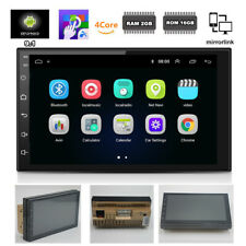 """Double 2Din Android 9.1 Car Truck Stereo Radio GPS MP5 7"""" Touch Screen 2GB+16GB"""