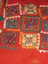 Lumbani? BANJARA ODHANA?     Wedding textile shawl  mirrors & embroidery  India