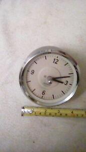 MotoMeter 4 inch Car Clock.