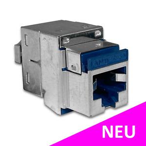 NEXANS LANmark-6 Evo RJ45 Snap In Netzwerk Modul Jack LAN Adapter 10Gb 500Mhz