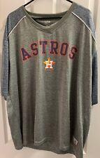 Houston Astros Dynasty Blue/Gray Mens  T-Shirt XXL 2XL