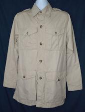 C C FILSON Lightweight Safari Hunting Jacket Mens 38 Cotton Shirt Jacket USA
