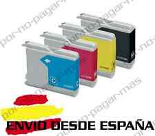 4 CARTUCHOS COMPATIBLES NonOem BROTHER LC970 LC1000 DCP-680CN DCP680CN