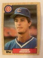 1987 Topps #227 Jamie Moyer-CUBS