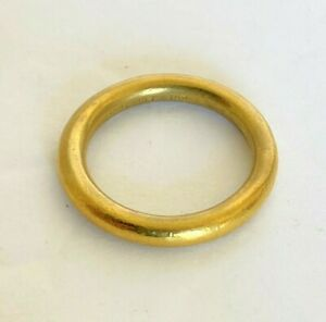 B. Kieselstein Cord 18k Yellow Gold Band Ring Size 7