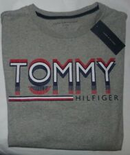 NWT MENS TOMMY HILFIGER S/S T-SHIRT~GRAY~SZ LRG