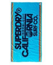 Superdry  Sun & Surf Beach Towel - Blue Atol BNWT
