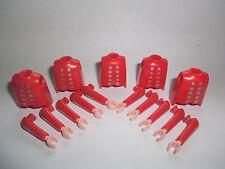 Playmobil 5 Oberkörper Rotröcke Garde Soldaten Rotrock mit Arme 7675 3795