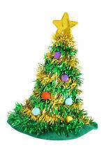 Noël Adulte Arbre Chapeau avec Étoile Nouveauté Amusant Fête Déguisement