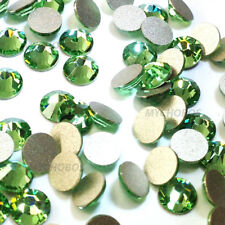 1440 Swarovski 2058 9ss crystal wholesale flatbacks ss9 green PERIDOT (214)