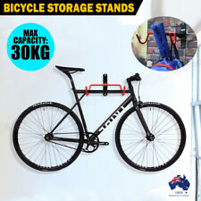 1X Bike Bicycle Storage Stands Steel Rack Wall Mounted Hanger Hook Mount