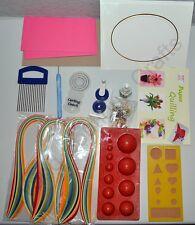 Carta da Quilling Kit, crimper, slot, Pettine, a cupola Muffa Stampo, Board, colla, gioielli