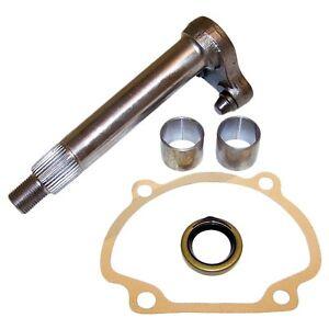 """Willys Sector Shaft Kit 7/8"""". Willys MB Ford GPW CJ2A CJ3A CJ3B CJ5. Made in USA"""