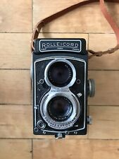 Rollei TLR Camera – Rolleicord VA – Model K3E Type 2 – S/N 1925630 - Plus Extras
