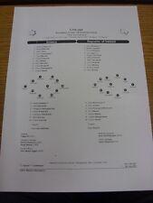 20/07/2011 teamsheet: euro U19 campeonatos-Grecia U19 V República de Irlanda