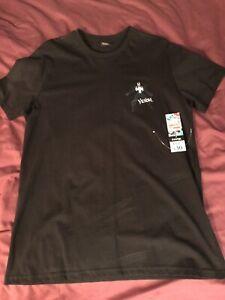 "Marcel Comics By George Venom Black Boys MEDIUM T Shirt BRAND NEW 39"" 41"" Chest"