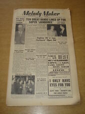 MELODY MAKER 1950 AUGUST 26 JAZZ JAMBOREE CYRIL STAPLETON BILLY COTTON +