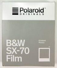 POLAROID SX-70 8 vues noir et blanc