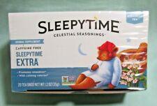Celestial Seasonings Herbal Tea, Sleepytime Extra, Case of 6- 20 count T-47