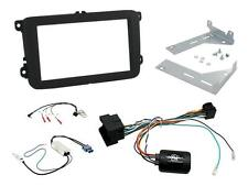 CTKVW17 VW Jetta 15 on Double Din Stereo Facia Fitting Kit Stalk Aerial