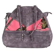 Browning Kendall Coral Pink CCW Handbag, Concealed Carry Gun Purse Camo Large