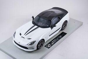 1/18 BBR Top Marques Dodge Viper Gloss White AND  Black Custom