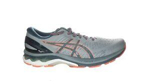 ASICS Mens Gel-Kayano 27 Sheet Rock/Magnetic Blue Running Shoes Size 10.5