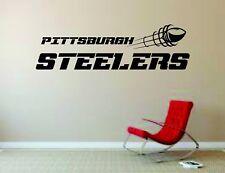Wall Mural Vinyl Decal Sticker Decor NFL Football Rugby LogoPittsburgh Steelers