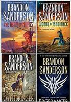 4 NEW BOOKS Brandon Sanderson Stormlight Archive WAY WORDS OTHBRINGER EDGEDANCER