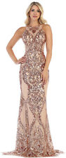 PROM QUEEN FORMAL GALA GOWN SPECIAL OCCASION RED CARPET EVENING PAGEANT DRESSES