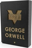 1984 - SPECIAL COLLECTOR'S EDITION BLACK - VERY RARE - Foreign Novel - ORWELL