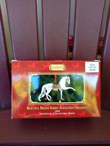 Breyer Beautiful Breeds Andalusian Horse Ornament 2009 700509 7th in series