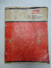 CASE VA Series Tractor and Engine Factory Service Manual Rac 258 Repair