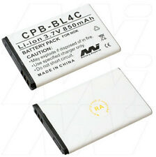 BL-4C 850mAh battery for Nokia 6108 6125 6126 6131 6133 6136 6170 6260 6300 6301