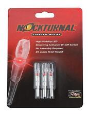 Nockturnal Lighted Red Arrow Nock Gt Size 3Pk. Sku 9569029