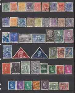 Netherlands Mostly Used Collection of Pre War Issues