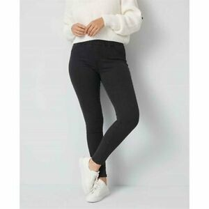 AVON Skinny Fit Jeggings - BLACK - SIZE 16
