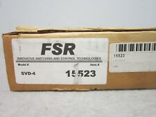 (NEW) FSR SVD-4, 1x4 Y/C S-Video Distribution Amplifier, Rack Mount