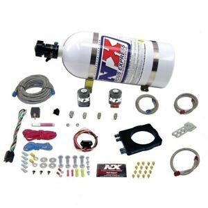 Nitrous Express for Dodge Hemi Nitrous Plate Kit (50-400HP) w/10lb Bottle - nex2