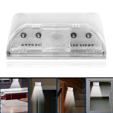 4 LED détecteur de mouvement Spot Light Sensor PIR Auto Lampe sans fil Keyhole