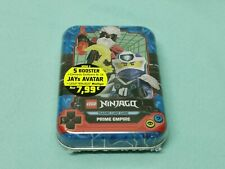 Lego® Ninjago™ Serie 5 Trading Card Game Mini Tin Box Blau mit LE14 + 5 Booster