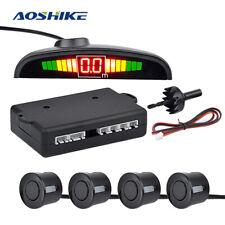 Parking Sensor (4 Sensors) Reverse Backup Car Parking Radar Monitor Detector